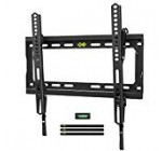 "USX Mount Tv set Wall Mount Tilting Bracket for Most 26-fifty five"" Flat Screen LED, Lcd, OLED, 4K TVs-Tv set Mount with VESA Up to 400x400mm-Fat Capability Up to 99lbs, Reduced Profile, Space Conserving for 16″ Stud"
