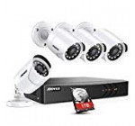 ANNKE 8 Channel Stability Camera Program five-in-one 1080P lite H.264+ Wired DVR with 1TB Surveillance Hard Disk Travel and 4X 1080P High definition Weatherproof Bullet CCTV Cameras with IR-minimize Evening Eyesight LEDs