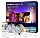 PANGTON VILLA Led Strip Lights, fourteen.3ft for 65-75in Television set, USB LED Television Backlight Package with Distant – sixteen Shade Modifying 5050 LEDs Bias Lights for HDTV