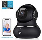 Wi-fi House Protection Camera, Littlelf Wise 1080P Pet Surveillance Wifi Indoor IP Digital camera for Child/Elder/Nanny Keep track of with Movement Monitoring, 2-Way Audio, Work with Alexa and Manually Night Vision