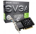 EVGA GT 710 2GB DDR3 64bit One Slot, Minimal Profile 02G-P3-2713-KR