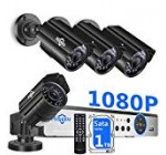 【H.265+】 Hiseeu Protection Digicam Method Wired,4Pcs 1080P AHD Cameras+Expandable 8CH DVR,Telephone&Computer Remote Viewing,Movement Inform,Night time Eyesight,IP66 Water-resistant,24/seven Report,Easy Set up,1TB Difficult Drive