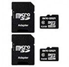 Micro Centre 32GB Course 10 Micro SDHC Flash Memory Card with Adapter (two Pack)