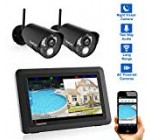 "CasaCam VS802 Wireless Safety Digicam Program with seven"" Touchscreen and Hd Nightvision Cameras, AC Driven (two-cam package)"